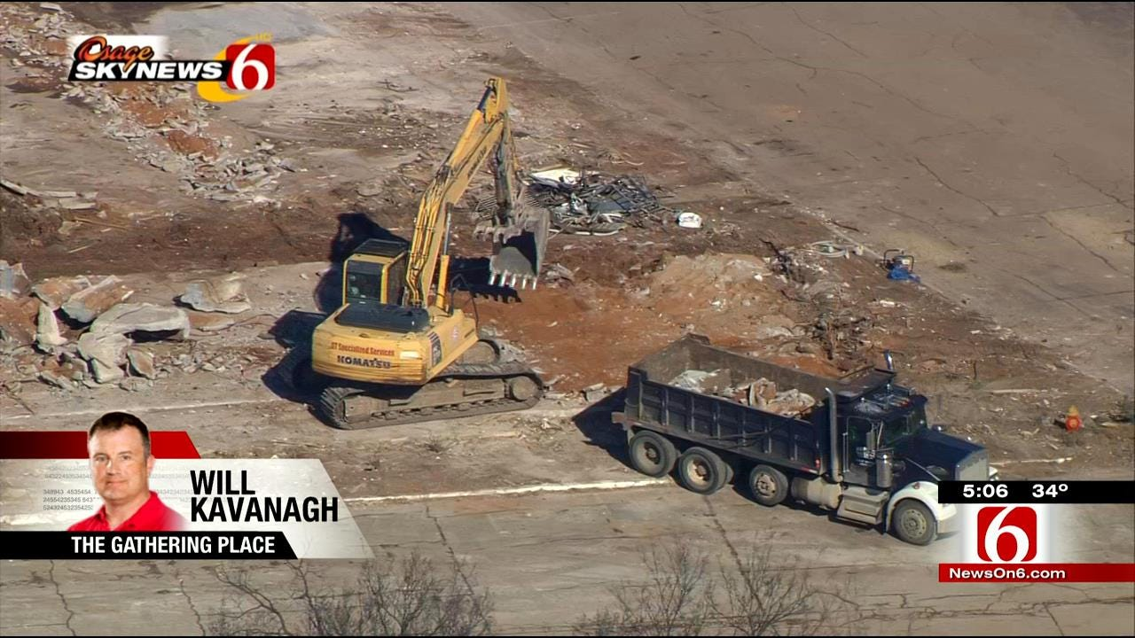 Construction Continues On Tulsa's Gathering Place