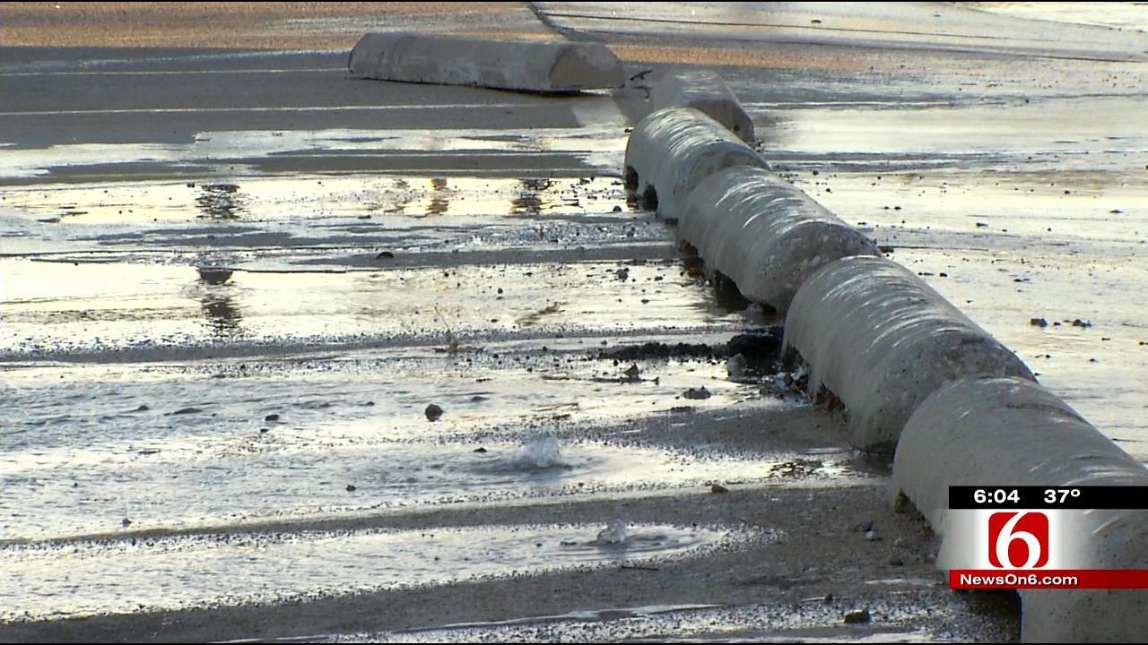 Tulsa Crews Work To Repair Water Line Breaks