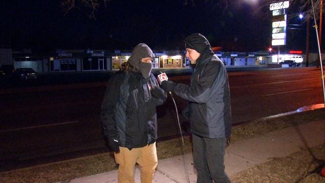 How News On 6 Reporters, Photojournalists Stay Warm In The Cold