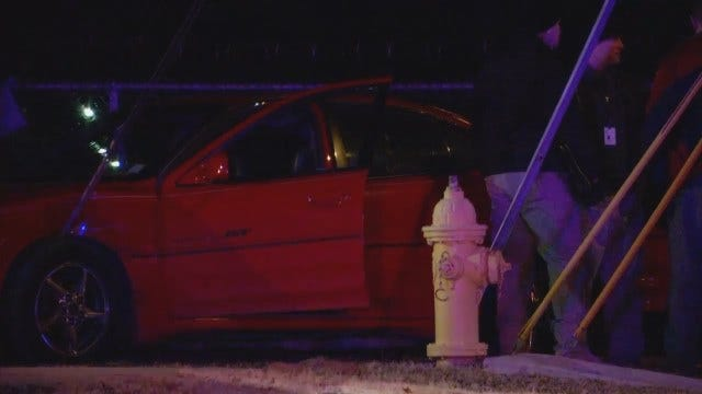 WEB EXTRA: Video From Scene Of West Tulsa Fatal Shooting