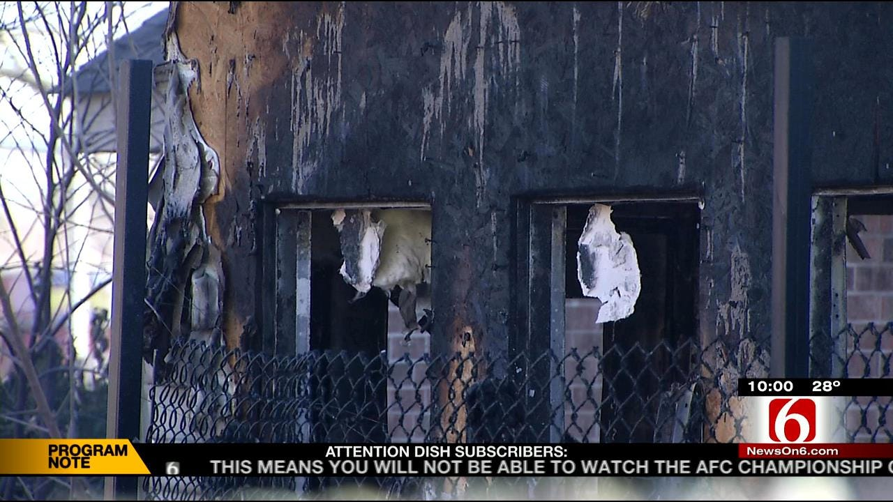 Fires Spark As Oklahomans Attempt To Keep Warm