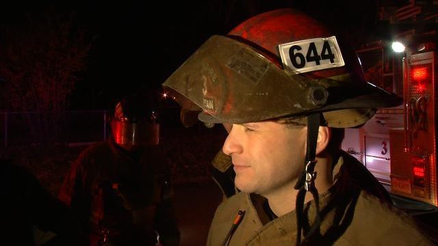 WEB EXTRA: Tulsa Fire Captain Joey Marshall Talks About Fire