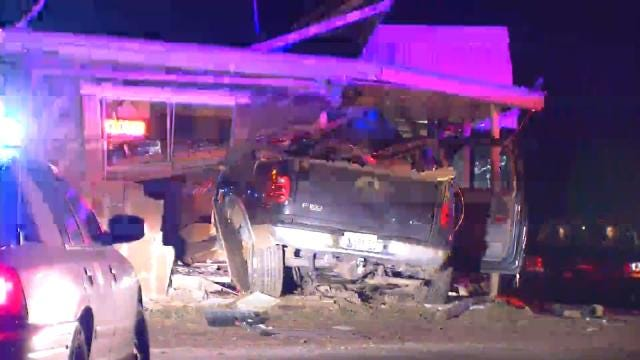 WEB EXTRA: Video From Scene Of Fatal Okmulgee County Crash