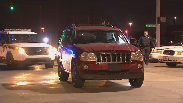WEB EXTRA: Video From Scene Of Where Police Stopped Jeep