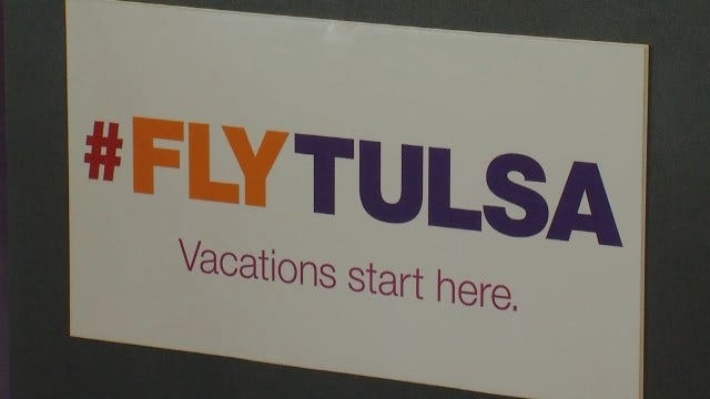 WEB EXTRA: Video Of 'Fly Tulsa' Event At Tulsa International Airport