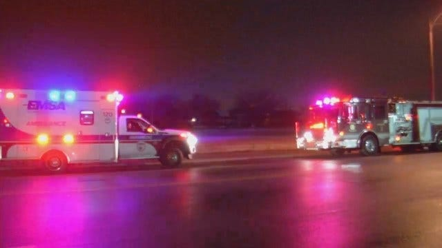 WEB EXTRA: Video From Scene Of Crash On Lewis At I-244