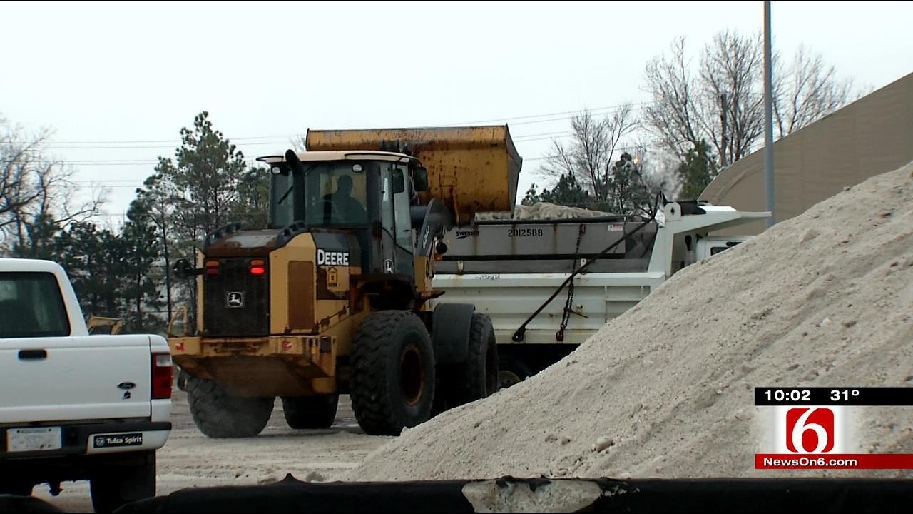 Crews Work To Keep Tulsa Roads Safe For Drivers