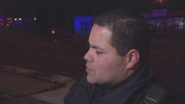 WEB EXTRA: TPD Officer Talks About Rollover Wreck
