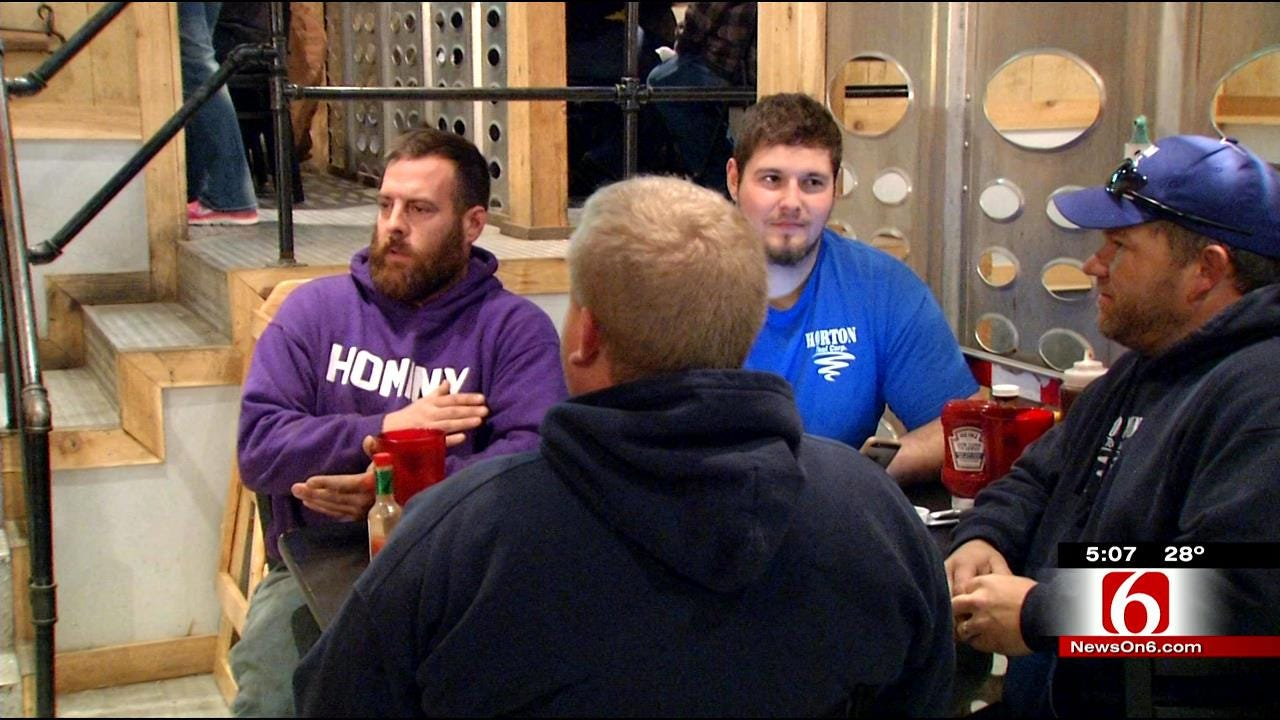 Hominy Restaurant Fills Stomachs Of Those Affected By Falling Oil Prices