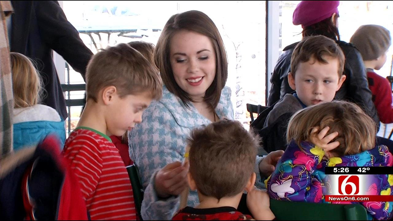 Guthrie Green Offers Crafts For Kids, Shopping Break For Parents