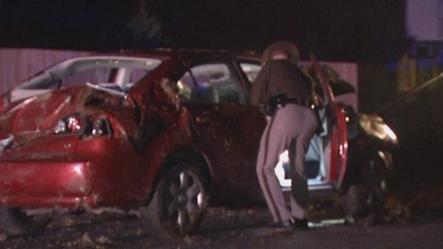 WEB EXTRA: Video From Scene Of Wagoner County Crash