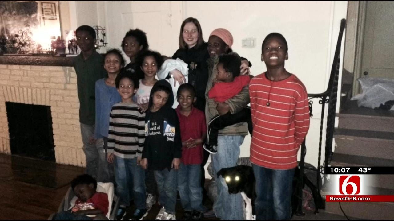 TPD Officer, Mother Of 13 Strike Unexpected Friendship