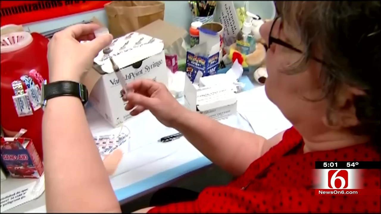 Cases Of Flu Increasing In Oklahoma, Vaccine Or No Vaccine