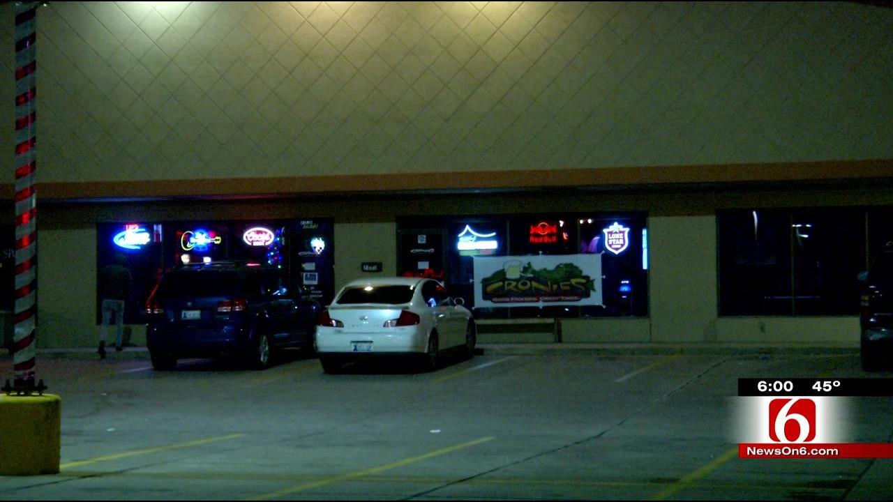 Man Shot In Back After Fender Bender Outside South Tulsa Bar