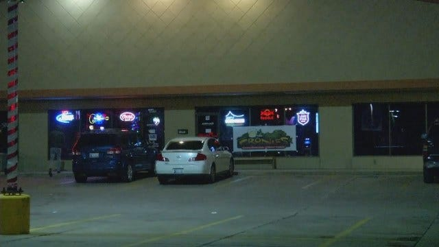 WEB EXTRA: Scenes From South Tulsa Shooting Outside Cronies