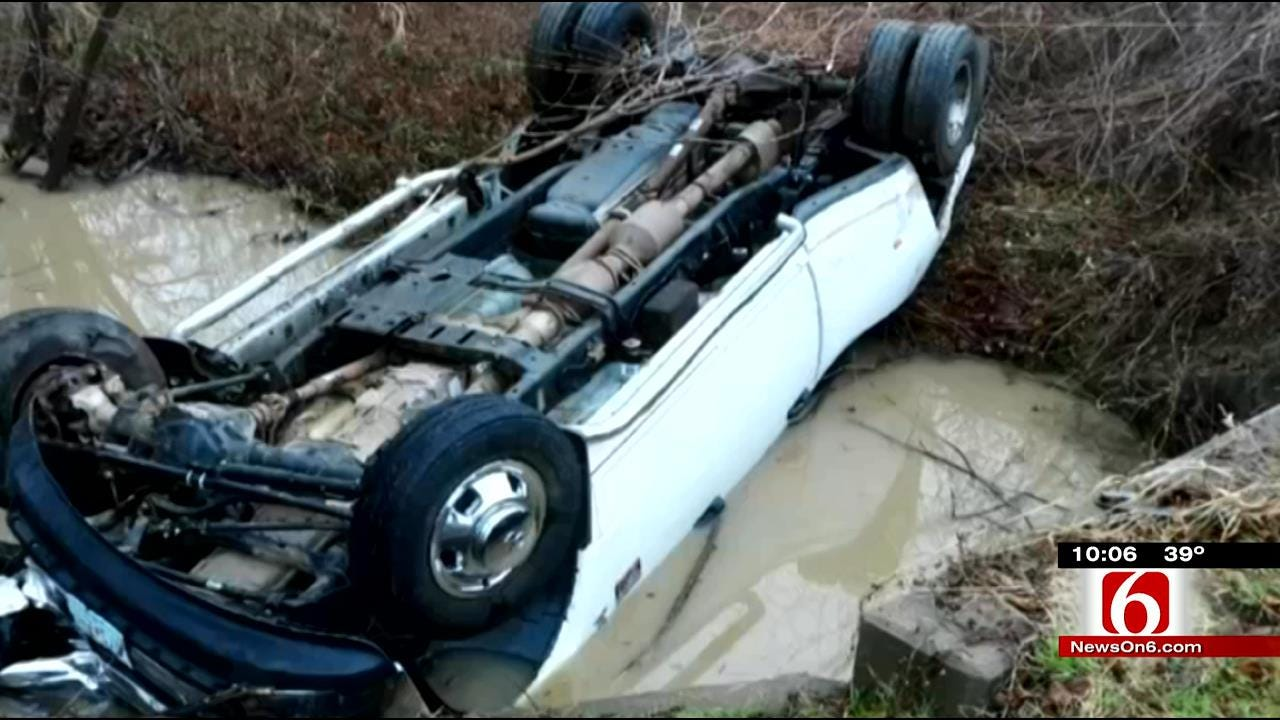 Wagoner County Officers, Heroes Rescue Baby Trapped In Overturned Truck
