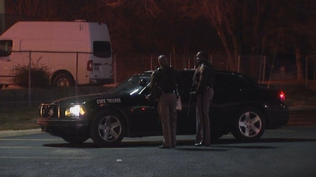 WEB EXTRA: Video From Scene Outside The Motel 6 In Sapulpa
