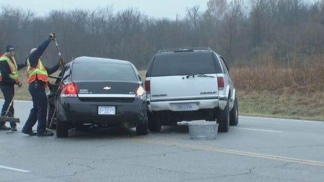 WEB EXTRA: Video From Scene Of Cherokee Industrial Park Crash