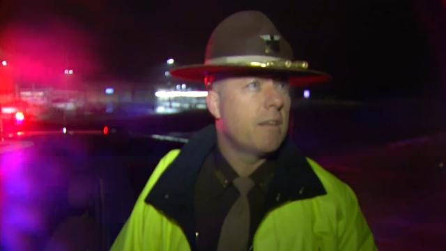 WEB EXTRA: OHP Trooper Russell Stripling Talks About Jack-Knifed Semi