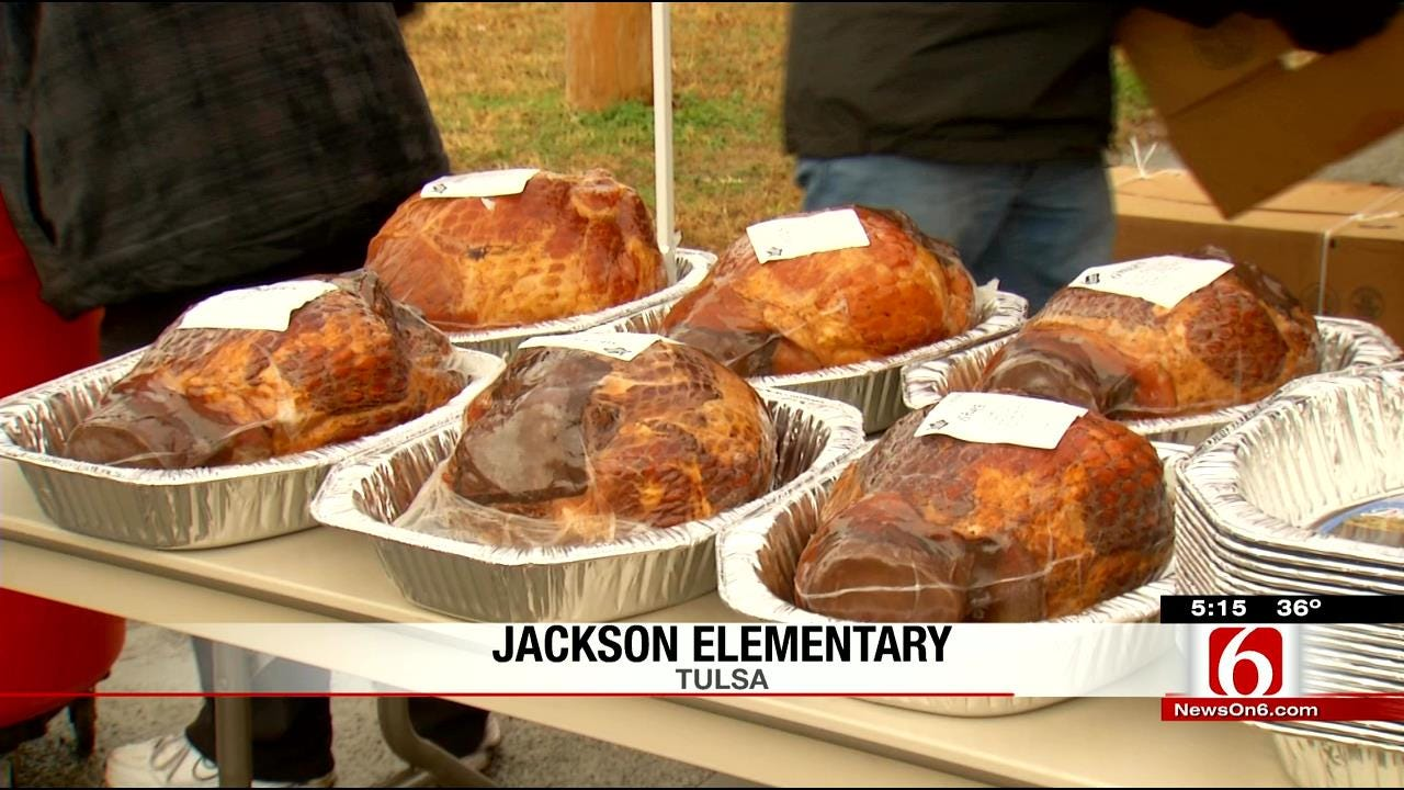 Local Company Donates Christmas Dinner To Elementary Students, Staff