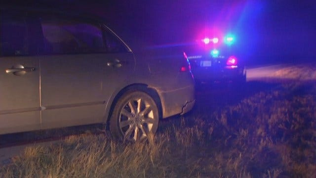 WEB EXTRA: Video From Scene At End Of Police Chase In Nowata County