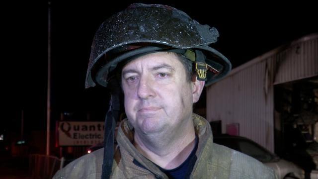WEB EXTRA: Tulsa Fire Captain Corey Parks Talks About The Fire