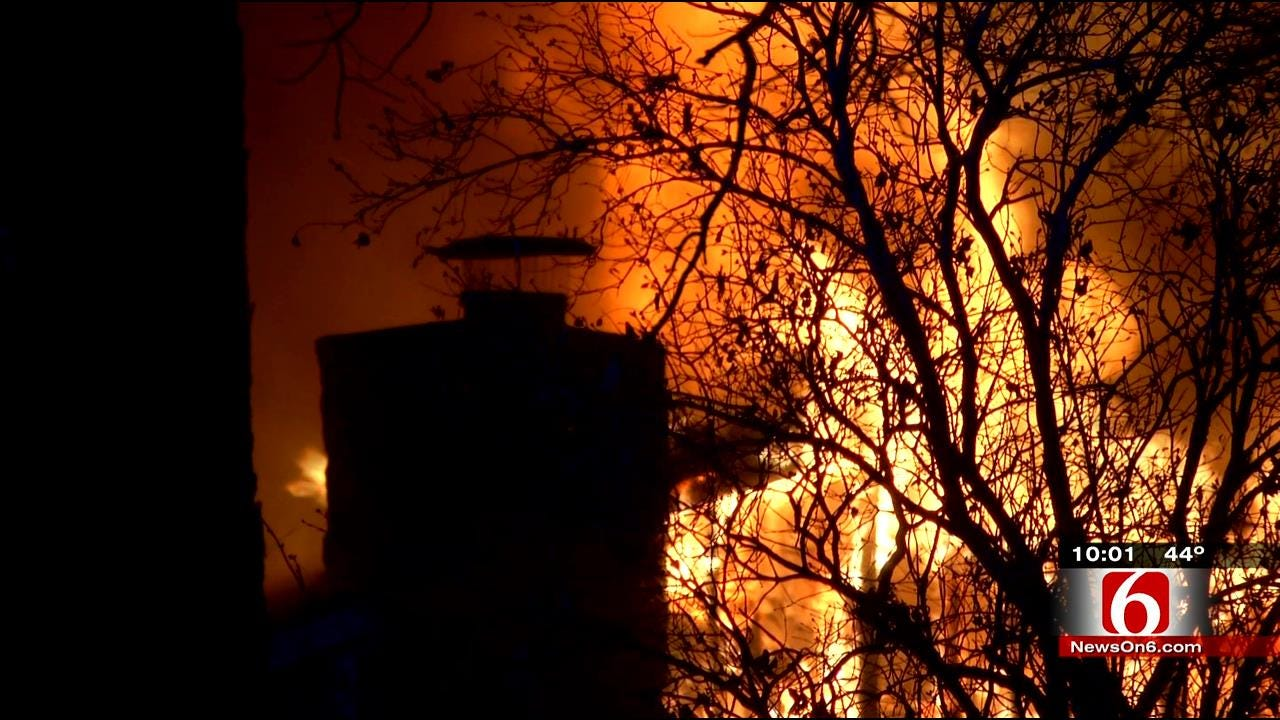 Emergency Crews Responded As Fast As Possible To Fatal Catoosa Fire