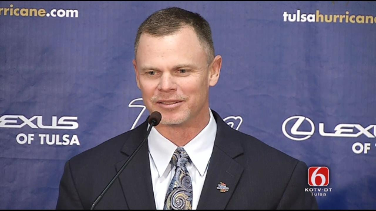 WEB EXTRA: TU's New Football Coach Philip Montgomery News Conference