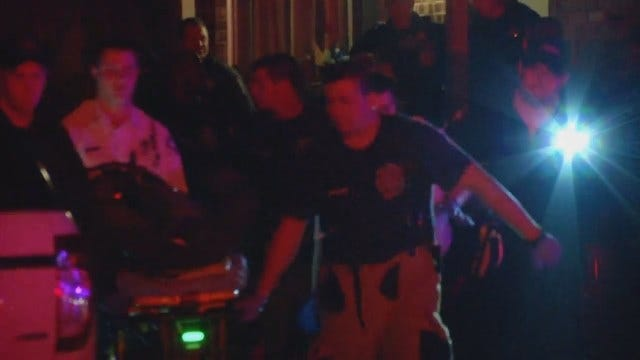 WEB EXTRA: Man Shot In Head Not Cooperating With Tulsa Police