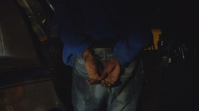 WEB EXTRA: Tulsa Man Arrested For Alleged Theft From Elementary School