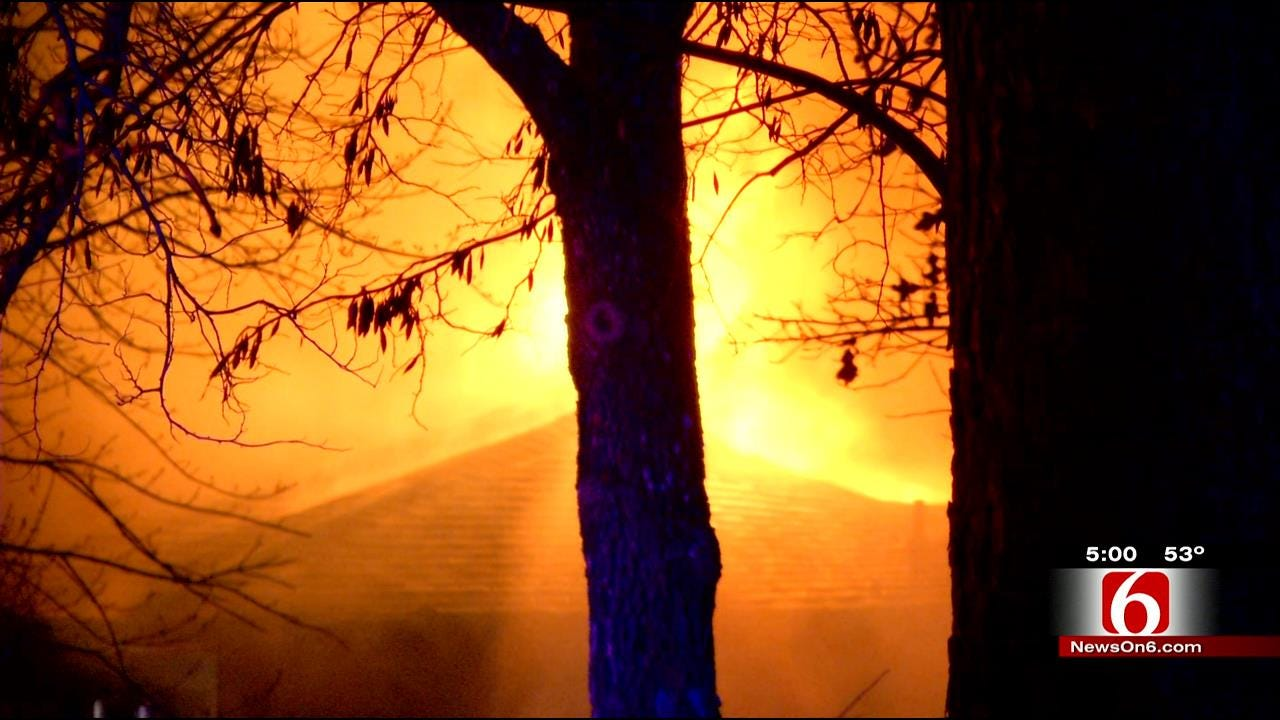 Catoosa Community Mourns 9-Year-Old Killed In Overnight House Fire