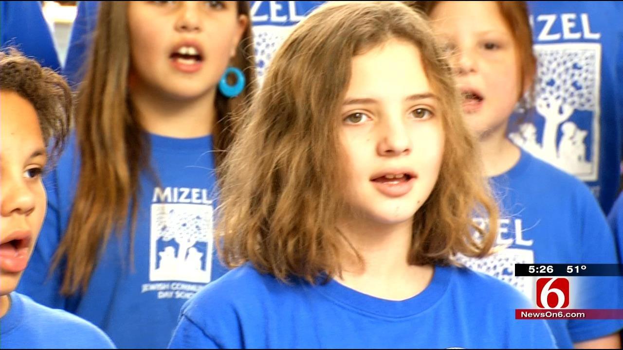 Sounds Of Hanukkah At A Tulsa Mall