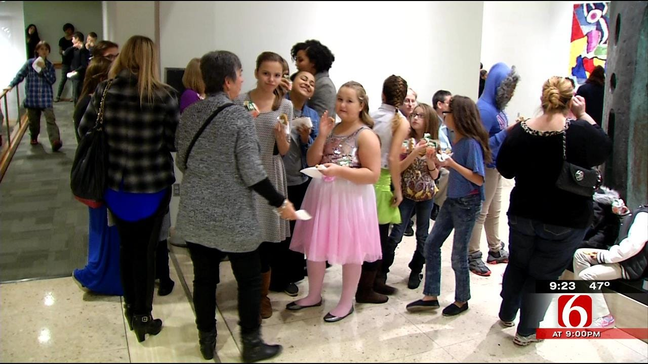 Underprivileged Green Country Kids Get First Glimpse Of 'The Nutcracker'