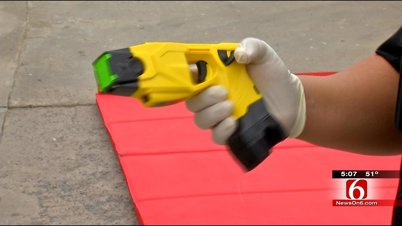 Pittsburg County Gets New Tasers; Guns Are 'Last Resort', Sheriff Says
