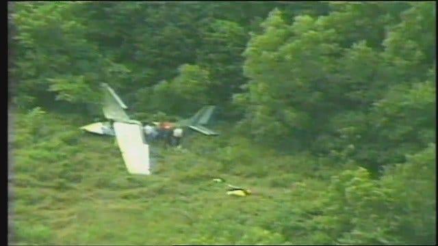 WEB EXTRA: Video Of The 2003 Plane Crash Near Cushing