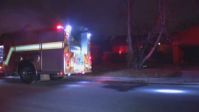 WEB EXTRA: Video From Scene Of Tulsa House Fires