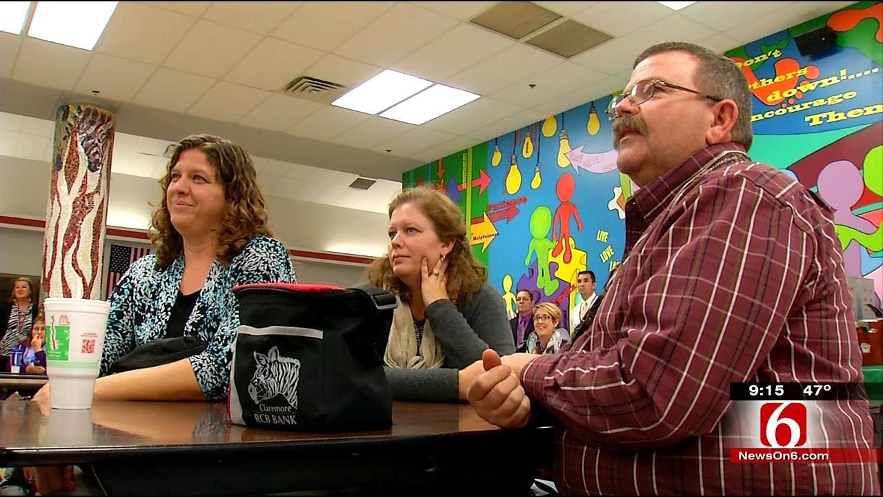 Oklahoma's Superintendent-Elect Takes School Tour To Claremore