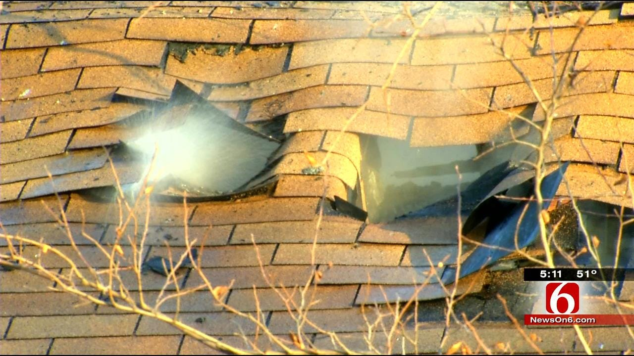 Family Escapes Burning Sapulpa Home