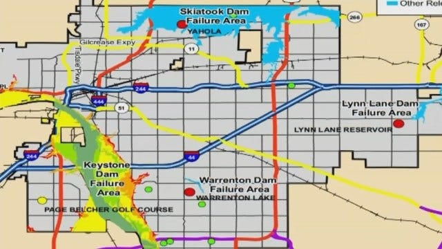 City Of Tulsa Releases New Flood Zone Map