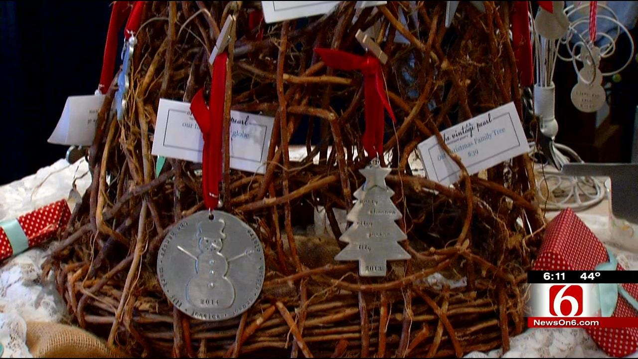 The Vintage Pearl Ornament Benefits Tulsa Salvation Army 'Forgotten Angels'