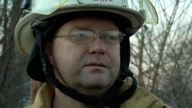 WEB EXTRA: Turley Fire Chief Keith Ross Talks About Fire
