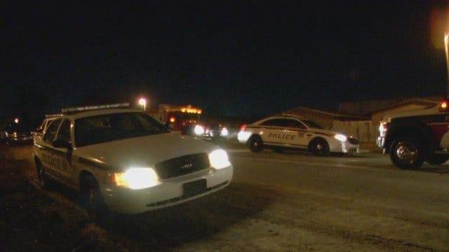 WEB EXTRA: Video From Scene Of Stabbing Incident In East Tulsa Neighborhood
