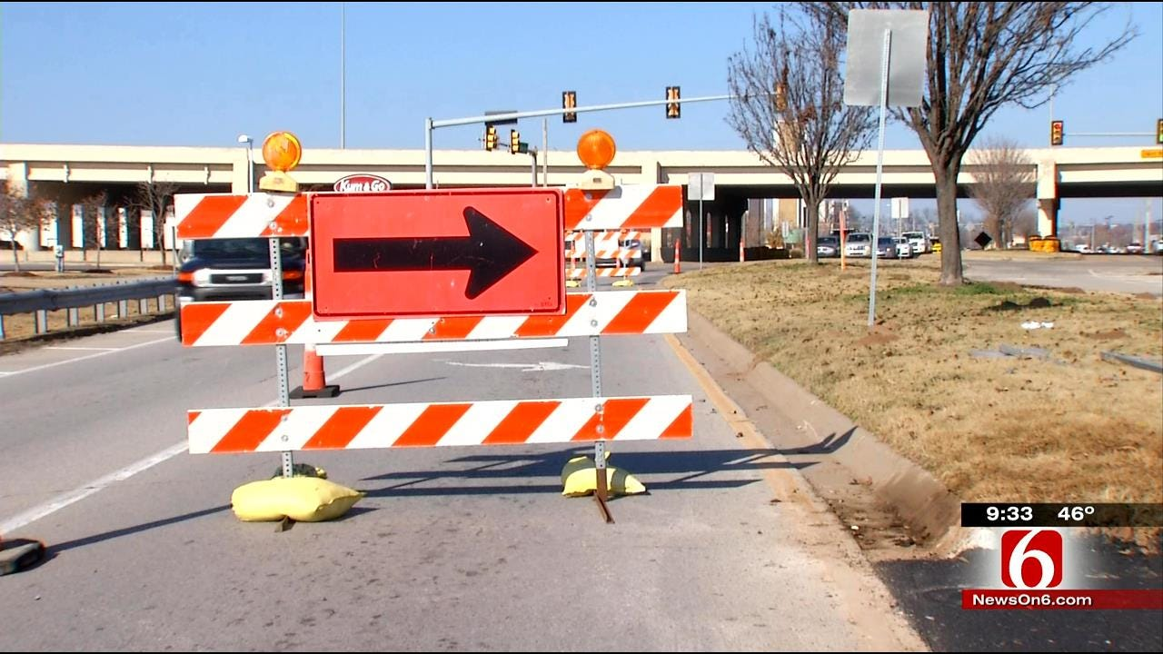 Construction Crews Begin Work On Busy South Tulsa Intersection