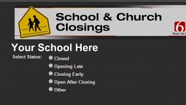 School Closings System How To