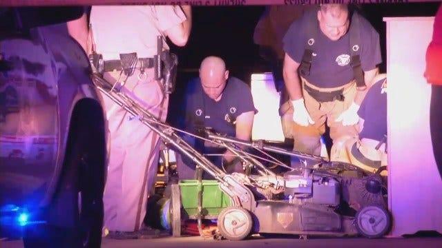 WEB EXTRA: Suspect In Custody In Sperry Homicide