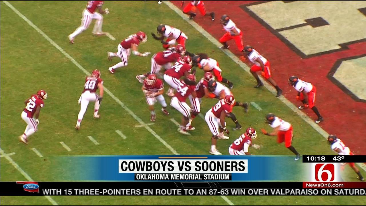 Bedlam: Oklahoma State Upsets Oklahoma 38-35 In Overtime