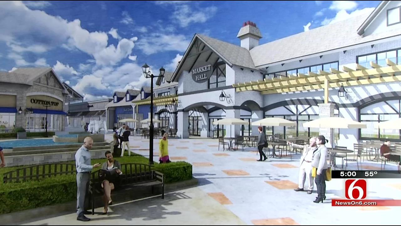 Developer Unveils Details About West Tulsa Outlet Mall Plan