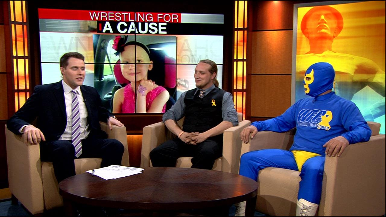 Tulsa 'Wrestling For a Cause' Fundraiser