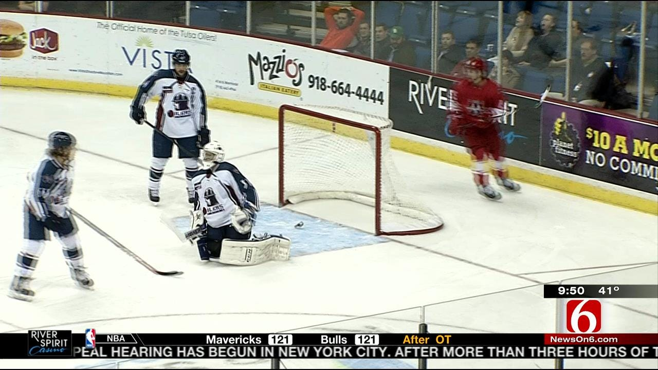Tulsa Oilers Suffer Another Loss To Allen