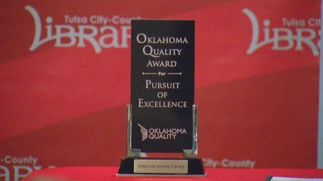 WEB EXTRA: Video From Tulsa City-County Library Award Announcement